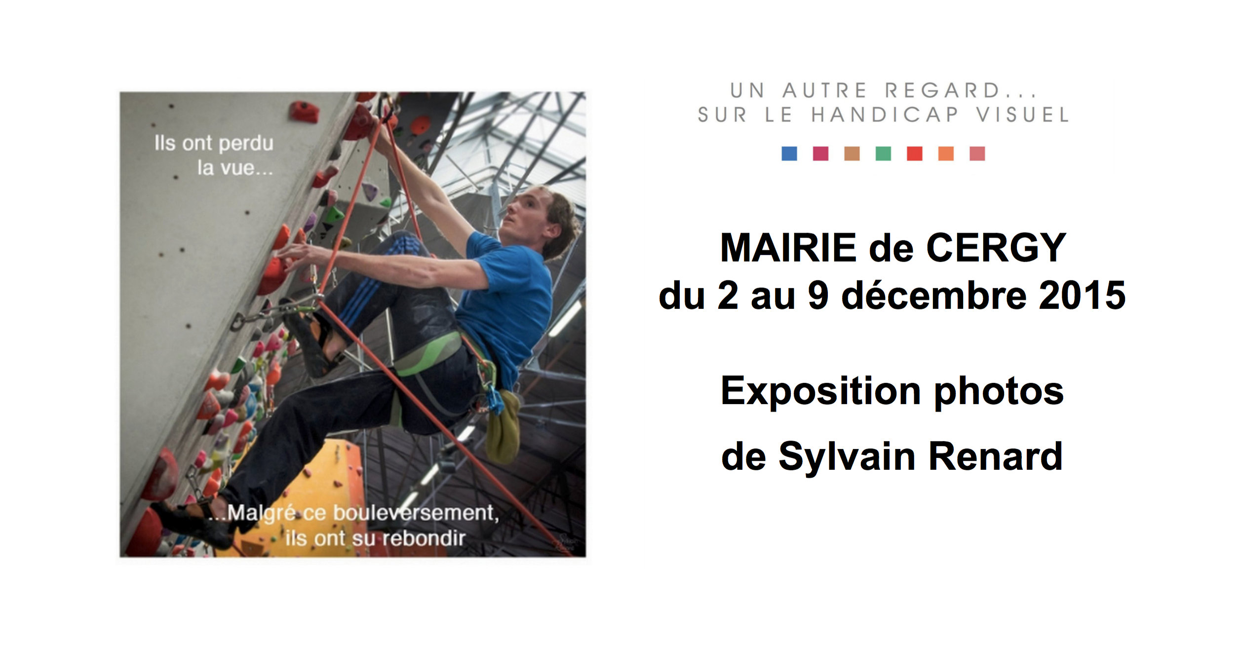 Expo photos à Cergy du 2 au 9  Décembre 2015